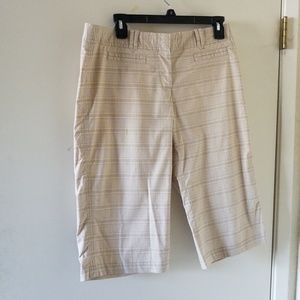 Nwot plaid bermuda shorts from Anthropologie